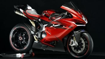 Moto - News: MV Agusta: la F4 LH44 dedicata a Lewis Hamilton