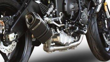Moto - News: Yamaha YZF-R6 ed Exan: lo scarico per fare la voce grossa