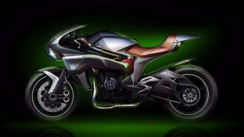 "Moto - News: Kawasaki: ad EICMA la Sport Tourer ""supercharger"""