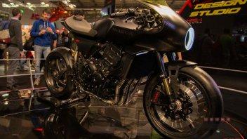 Moto - News: Eicma 2017, Honda CB4 Interceptor: caccia a reazione