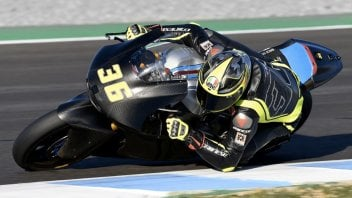 Moto2: Joan Mir's special helmet for the Moto2 debut