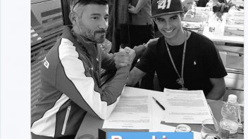 Moto3: Marc Garcia in the CEV with Max Biaggi