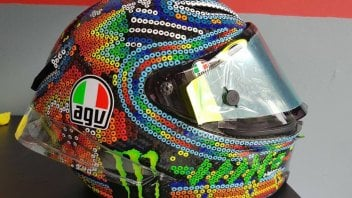 MotoGP: Mexico and... Malaysia: Valentino's helmet for the tests