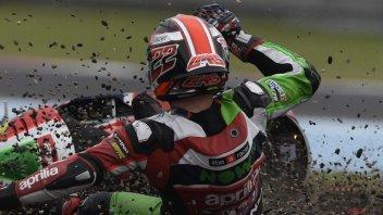 MotoGP: Lowes batte Marquez... per numero di cadute