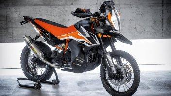 Moto - News: EICMA 2018, KTM 790 Adventure R: concept che punta al futuro