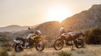 Moto - News: EICMA 2017 – BMW F 750 e 850 GS my 2018: rinnovate le on-off bavaresi