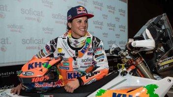 Dakar: Laia Sainz alla Dakar 2018 con Nolan e KTM
