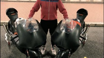 MotoGP: KTM home delivery of the Moto3 for Max Biaggi