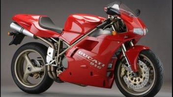 Moto - News: Ducati 916: 25 anni fa il capolavoro di Tamburini