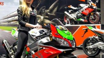 Moto - News: Aprilia e Moto Guzzi in passerella al Motor Bike Expo