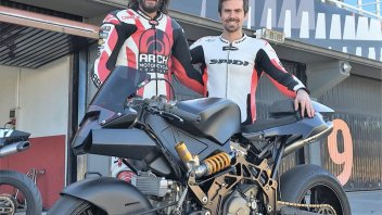 News: Keanu Reeves rides the Vyrus at Valencia withTerol