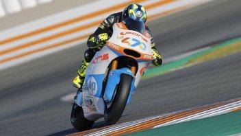 Moto2: Valencia Test: the sun and Baldassarri shine
