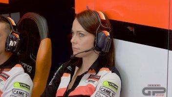 Moto2: Da ombrellina a team manager, la storia di Milena