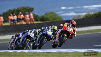 MotoGP: Rossi VS Marquez: sfida a colpi di freni