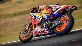 MotoGP: Forcellone in carbonio per la Honda a Buriram