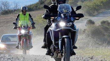Moto - News: Honda True Adventure: si parte dalla Toscana