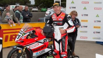 SBK: What a show by Bayliss! 2nd in in the Phillip Island race