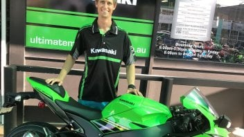 SBK: L'ex Ducati Mike Jones riparte dal CEV con Kawasaki