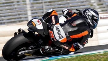 Moto2: Weather ruins the Jerez test, Lowes fastest over three days