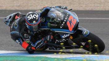 Moto2: Jerez tests: Bagnaia shines, but the surprise is Fenati, 3rd