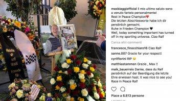 MotoGP: Max Biaggi, addio Ralf Waldmann amico mio