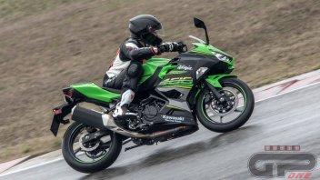 Moto - Test: Kawasaki Ninja 400: animo battagliero