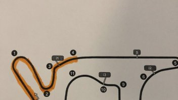 MotoGP: Ecco le zone riasfaltate del circuito di Termas de Rio Hondo