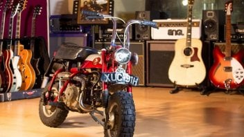 News Prodotto: Curiosità - Venduto all'asta l'Honda Monkey 50 di John Lennon. Il prezzo?