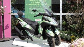 Moto - News: Yamaha TreeCity: una Milano più verde e meno trafficata