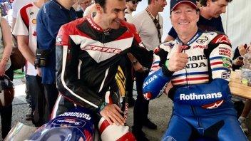 News: Emanuele Pirro sulla Honda 250 di Freddie Spencer