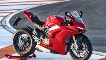 Moto - News: Richiamo per Ducati Panigale V4