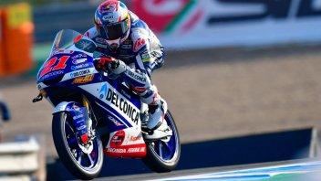 Moto3: Di Giannantonio comanda nelle FP1 di Jerez