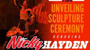 MotoGP: Owensboro rende omaggio a Nicky Hayden