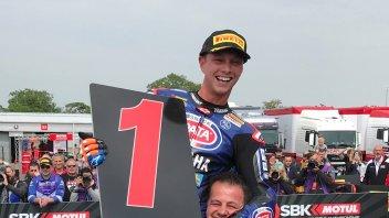 "SBK: van der Mark: ""The win? It was already written on Facebook"""