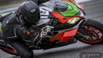 Moto - Test: RSV4 RF Factory Works: l'Aprilia che vi mette le ali