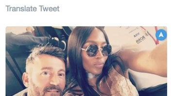 MotoGP: Max Biaggi and Naomi Campbell, here they are again