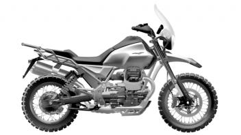 Moto - News: Moto Guzzi V85: le forme (definitive) della nuova crossover