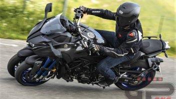 Moto - Test: Yamaha Niken: attacco alieno