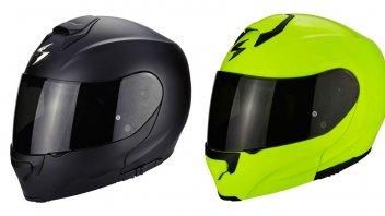 Moto - News: Scorpion EXO 3000 Air: il modulare che si... illumina al buio