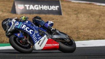 SBK: 8H Oschersleben: Honda vince e Yamaha finisce a terra