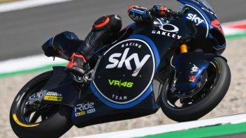 Moto2: Bagnaia re d'Olanda, Baldassarri out con una gomma a terra