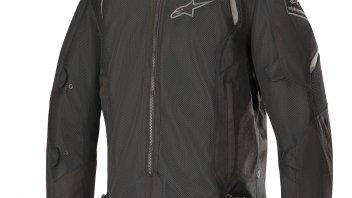 Moto - News: Alpinestars Wake Air Jacket: traforato in estate, è meglio...