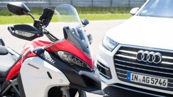 Moto - News: Ducati: progetto ConVeX per la sicurezza in moto