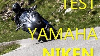 Moto - News: Yamaha Niken: spada a doppia lama