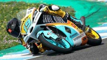 Moto3: FP3: Rodrigo di misura su Kornfeil, 3° Di Giannantonio