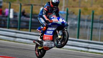 Moto3: QP: i big perdono tempo, Kornfeil ne approfitta