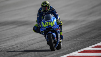 MotoGP: Iannone: mi prendo tutte le bastonate, ma non gli aggiornamenti