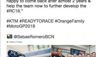 MotoGP: Randy De Puniet tester KTM per il 2018