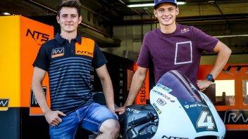 Moto2: NTS punta su Bendsneyder e Odendaal per il 2019