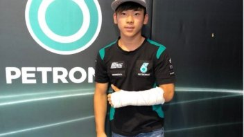 Moto3: Niente Aragon per Ayumu Sasaki